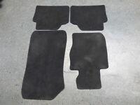 Original BMW 1er E90 E91 Komplett Velours Fußmatten Set schwarz