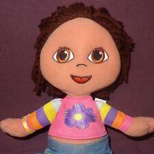 "Dora The Explorer Doll Plush 11"" Soft & Stylish 2003 Fisher Price Toy"