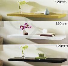 Set of 2 120cm Floating Shelf Wall display Wall Mountable Storage Shelve New