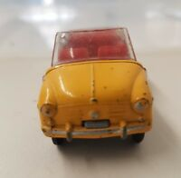 CORGI 240  GHIA FIAT 600-RARE YELLOW  EXAMPLE!