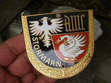 ADAC-AUTOMOBILE CLUB Stormarn PLACCA BADGE-SMALTATO-Emblema Auto