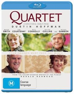 *Brand New & Sealed* Quartet (Blu-ray Movie, 2013) Billy Connolly, Maggie Smith