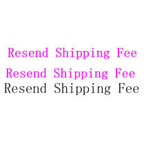 Resend Shipping fee(Please leave us a Note tell us what you want)