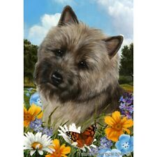 Summer House Flag - Brindle Cairn Terrier 18326