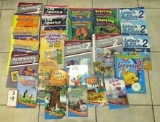 Abeka 2nd Second Grade Lot 28 Books Curriculum Home School Subjects Readers