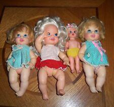 Mattel 1967 & 1968 Doll Lot, Baby Fun, Baby Go Bye Bye, Baby Small Talk
