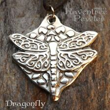 Dragonfly - Pewter Pendant - Nature Jewelry, Bringing out inner beauty, truth