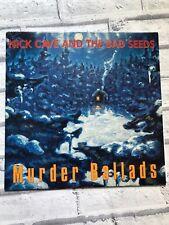 Nick Cave & The Bad Seeds Murder Ballads Vinyl LP Mute – STUMM 138 1st Ed