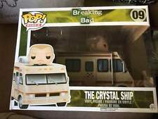 Funko pop vinyl figure #09 Crystal Ship vehicle Breaking Bad in Box retired