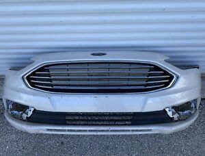 2017 2018 2019 FORD FUSION FRONT BUMPER COVER ASSEMBLY UPPER & LOWER GRILLE OEM