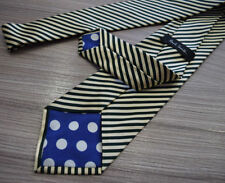 Cravatte e papillon da uomo verde 100% Seta