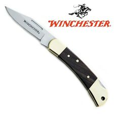 Winchester Brass Bolster Medium Lock Back Knife 22-41324