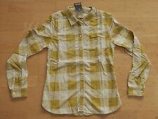 Karierte Damenblusen, - tops & -shirts mit Button Down-Kragen aus Baumwolle