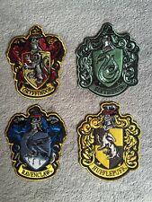 Écussons brodés Harry Potter maisons Griffondor Poufsouffle Serdaigle Serpentard