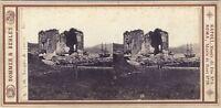 Tempio Da Venere Frutti di Bosco Napoli Italia Sommer - Vintage Albumina c1865