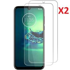 (2 Pack) Tempered Glass Screen Protector For Motorola Moto G8 Plus