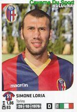 029 SIMONE LORIA ITALIA BOLOGNA.FC STICKER CALCIATORI 2012 PANINI