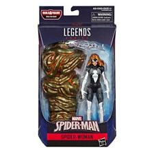 marvel legends spider-woman baf molten man
