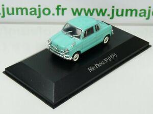 ARG33 Voiture 1/43 SALVAT Autos Inolvidables : NSU PRINZ 30 1959