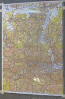 Geographers A-Z Map Ordnance Survey Master Plan Of London 9 Sheet