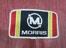 Vintage 1970's Morris Farm Implements Equipment Rectangle Fabric Patch Free S/H