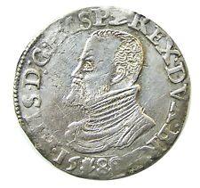 1588 Rare Spanish Armada Silver FILIPSDAALDER of king Philip II 33.91 grams
