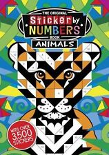 The Original Sticker by Numbers Book: Animals,