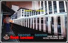 FOOT LOCKER CANADA 2007 YOUR FIRST STOP 3D LENTICULAR RARE COLLECTIBLE GIFT CARD