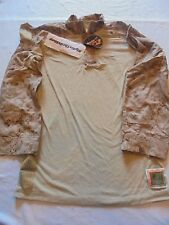 USMC DEFENDER M FROG Digital Marpat Combat Shirt MARINES MEDIUM REGULAR M-R NWT