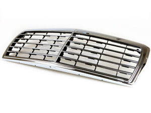 ABS Chrome Piano Black GrilleFor Mercedes Benz C-Class W201