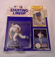 1990 Kenner Starting Lineup Figure SLU Texas Rangers Nolan Ryan Rookie w/Cards