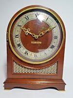 Seth Thomas Westminster Chime Clock Mantle Electric Clock 5 Rod Vintage Antique