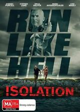 Isolation (DVD, 2017) S Lang D Purcell L Mably T Helfer M Avgeropoulos LIKE NEW