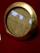 Elegante ANTICO circolare tondo da Cornice Foto Argento 12 cm circa