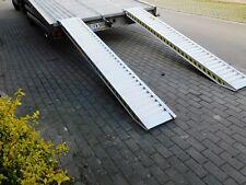 Alu Auffahrrampen  Alurampen Auffahrschienen  3500kg  2500 x 346 x 95mm