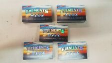 ELEMENTS Ultra Thin Rice Papers Single Wide (5 pack)