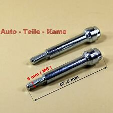 2 x Montage Bolzen / Schrauben für Citroen , Fiat , Peugeot  Abgasanlage .