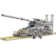 Lego ww2 Gustav Canon Weapon wwii Army 3846Pcs building custom military