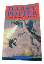 Harry Potter And The Goblet Of Fire, J. K. Rowling  [First Edition] First print