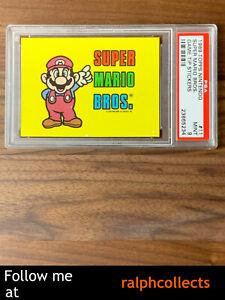1989 Topps Nintendo Game Tip Sticker #11 Super Mario Bros PSA 9 (Pop 4)