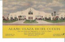POSTCARD ALAMO PLAZA HOTEL COURTS BATON ROUGE LOUISIANA