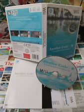 Nintendo Wii:Another Code R - Les Portes de la Mémoire [TOP & 1ERE EDITION] Fr
