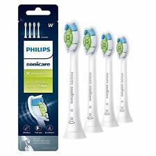 4X Philips Sonicare DiamondClean HX6064 Replacement Toothbrush Brush Heads White