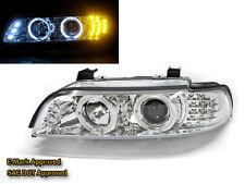 E39 1995-2003 95-03 Angel-Eye LED*3 Projector HEADLIGHT W/LED Chrome for BMW