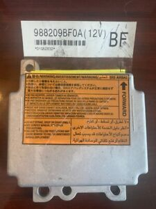 2014 Nissan Frontier SRS Module #988209BF0A