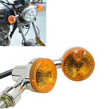 Universal Motorcycle Motorbike Turn Signal Indicator Turning Light Bulb Amber