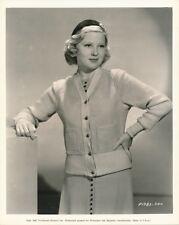 MARY CARLISLE Original Vintage 1937 Paramount Pictures DW FASHION Portrait Photo