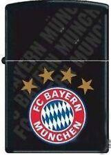 Zippo en TU MECHERO fc bayern munich negro 2002893, fútbol-Zippo FC Bayern