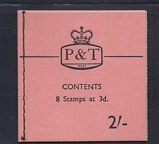 FIJI 1967 QEII SB5 (2sh booklet)