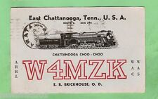 #D32. QSL CARD - 1957  RADIO CONTACT CARD - W4MZK EAST CHATTANOOGA, TENNESSEE US